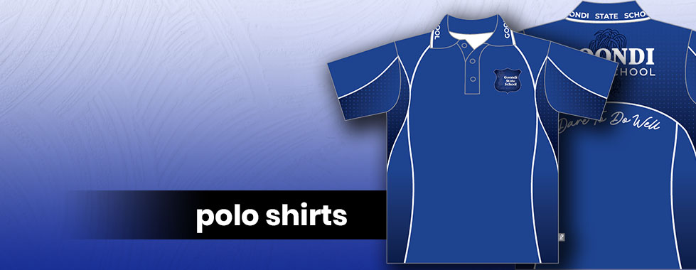 Goondi SS Polo Shirts Banner